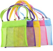 New listing Shenglong Mesh Beach Bags,Seashell Mesh Bags(Set of 5)