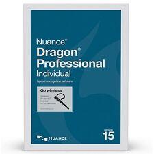 Nuance Dragon NaturallySpeaking Professional Individual 15 Wireless