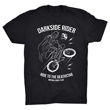 Dark Side Rider T Shirt Bike Biker Star Wars Darth Vader Sith Death Star