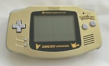 Used Nintendo GameBoy Advance System Pokemon Gold Ed. *Very Good Condition
