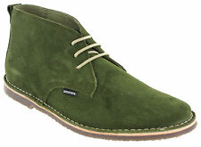Lambretta Desert Boots Suede Mens Flat Selecter Padded MOD Round Toe UK 7-12