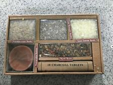 From the Memory of Trees Natural Resin Incense Gift Set Charcoal Tablets Burner