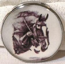 Fine Art Horse Snap Jumper with White Blaze 18-20Mm Some With Bubbles! gift!