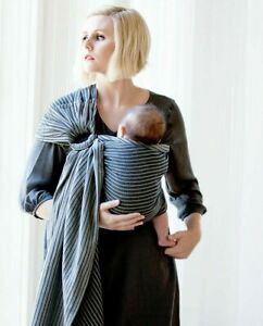 Moby Ring Sling Versatile Support Baby Wrap Carrier Newborns, Infants, Toddlers