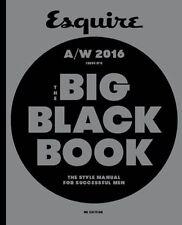 Esquire Big Black Book Magazine A/W 2016 NEW