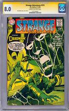 STRANGE ADVENTURES #215 CGC-SS 8.0 *SIGNED BY NEAL ADAMS* STORY CVR & ART 1968