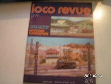**c Loco Revue n°409 La 232 T18 Aster Fulgurex / Voiture à impériale B9 x Ouest