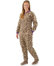 Guide Gear Leopard Camouflage Footed Pajamas Purple Sport Costume NWT XL LASTONE