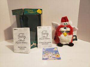 VTG 1999 Furby Christmas  Limited Edition w/Tag & Original Box Not Working