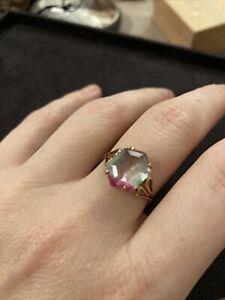 Vintage Paste Multi Coloured Ring