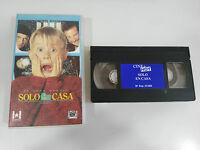 SOLO EN CASA CASTELLANO JOHN HUGHES - VHS Cinta Tape - 2T