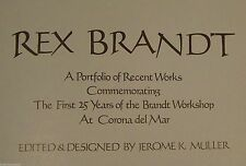 COFFEE TABLE BOOK - REX BRANDT