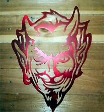 "12"" DEVIL HEAD Sign  Hand Made in Waco Texas ""CNC Plasma"""