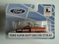 RIVER POINT FORD F-450 XL REG CAB BUCKET TRUCK  DEPT. PUBLIC WORKS   1/87  HO