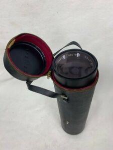 Soligor Tele-Auto 1:6.3 F 400mm 72 17109956 Camera Lens Includes Case and Caps