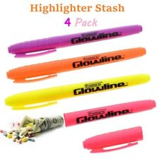 Diversion Safe (4 Pack) Highlighter Marker Stash Can Home Office Security Car US