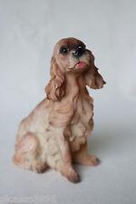 "Cocker Spaniel Dog Resin Figurine Figures Canine Animal Statue Sculpture 5.5"""