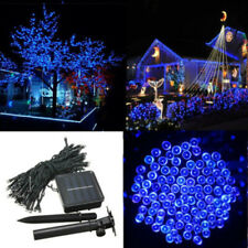 60 LED Starry String Solar Powered Fairy Light Garden Party Christmas Outdoor