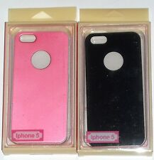 LOT OF 2 IPHONE 5 CASES PINK & BLACK- NEW IN BOXES