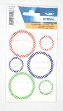 Herma 18 Stück Deckel-Etiketten / Label / Aufkleber bis -30 Grad (NEU/OVP)