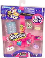 SHOPKINS Season 7 - 5 Pack  Join the Party  NEW