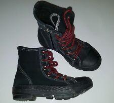 New CONVERSE Leather Boots CT Outsider Hi UK 10.5 US 11 EU 28 Jnr Girl/Boy RARE