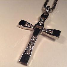 Croix avec Chaine Pour Homme - Rapide et dangeureux Dominic Toretto