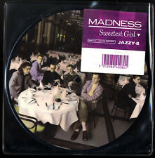 "MADNESS - SWEETEST GIRL - 7"" PICTURE DISC - SUGGS TWO 2 TONE SKA STIFF NOT CD LP"