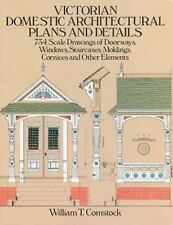 Dover Architecture: Victorian Domestic Architectural Plans and Details : 734