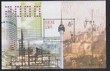 China Macao Macau Mint Never Hinged Post Office Fresh Miniature Souvenir sheet73