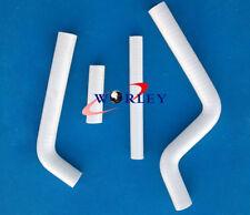 FOR YAMAHA YZ125 1996-2001 96 97 98 99 00 01 silicone radiator hose WHITE