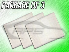 C36286 CABIN AIR FILTER FOR FORD EDGE FUSION CONTINENTAL MKX MKZ - PACKAGE OF 3