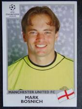 PANINI LIGUE DES CHAMPIONS 1999-2000 - Mark bosnich (MANCHESTER UNITED) #121