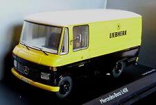 Mercedes Benz L 408 * Liebherr camiones * * 1:43 Schuco 03573 _