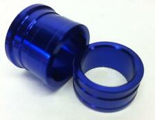 Blue Anodized Front Aluminum Wheel Spacers Yamaha YZ125 YZ250 YZ250F YZ450F YZ