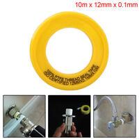Gewindedichtband für Klempner Weiße PTFE-Rohrdichtungsbänder für Leckwasser