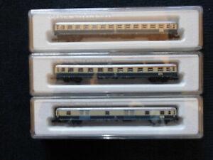 Marklin Z - 8720 8721 8722 Personenwagen 4 Achsen - OVP