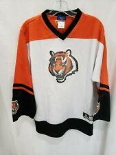 Rare Reebok NFL Cincinnati Bengals Hockey Jersey Youth XL 18-20