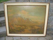 Oliver Glen Barrett Oil Painting Vintage California Landscape Signed Listed