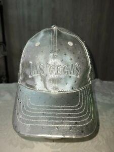 Unique shiny sliver star Las Vegas Baseball Hat - polyurethane adjustable