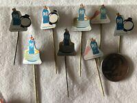 Lot of 8 Pril Soap Holland Dutch VTG Stickpins Pin Pinback #37354