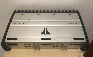 JL Audio 300/4 Amplifier 4 Channel, Used