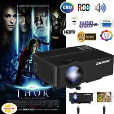 3000Lumen LED LCD Vidéo Projecteur Home Cinéma 1080P HDMI SD USB VGA Multiscreen