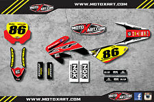 Honda CRF 70 - 2003 / 2011 PYRO style graphics kit / stickers / decals