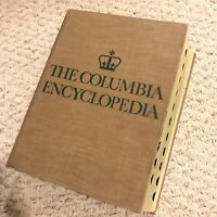 The Columbia Encyclopedia Vintage 2nd Edition