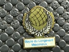 PINS PIN BADGE SPORT PETANQUE LONGEVENT MEXIMIEUX