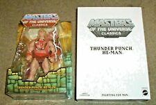 Mattel MOTUC Masters of the Universe Classics Thunder Punch He-Man Figure