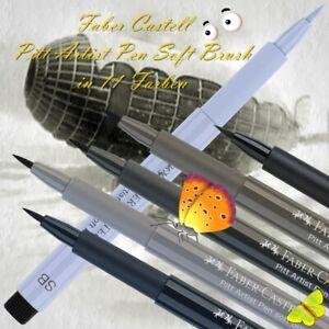 Faber Castell Pitt Artist Pen Soft Brush