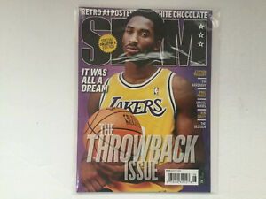 SLAM MAGAZINE ISSUE 190 AUGUST 2015 THROWBACK ISSUE- KOBE BRYANT COVER NM