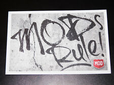 "Collectible Mod Pizza 6"" x 4"" Post Card (New)"